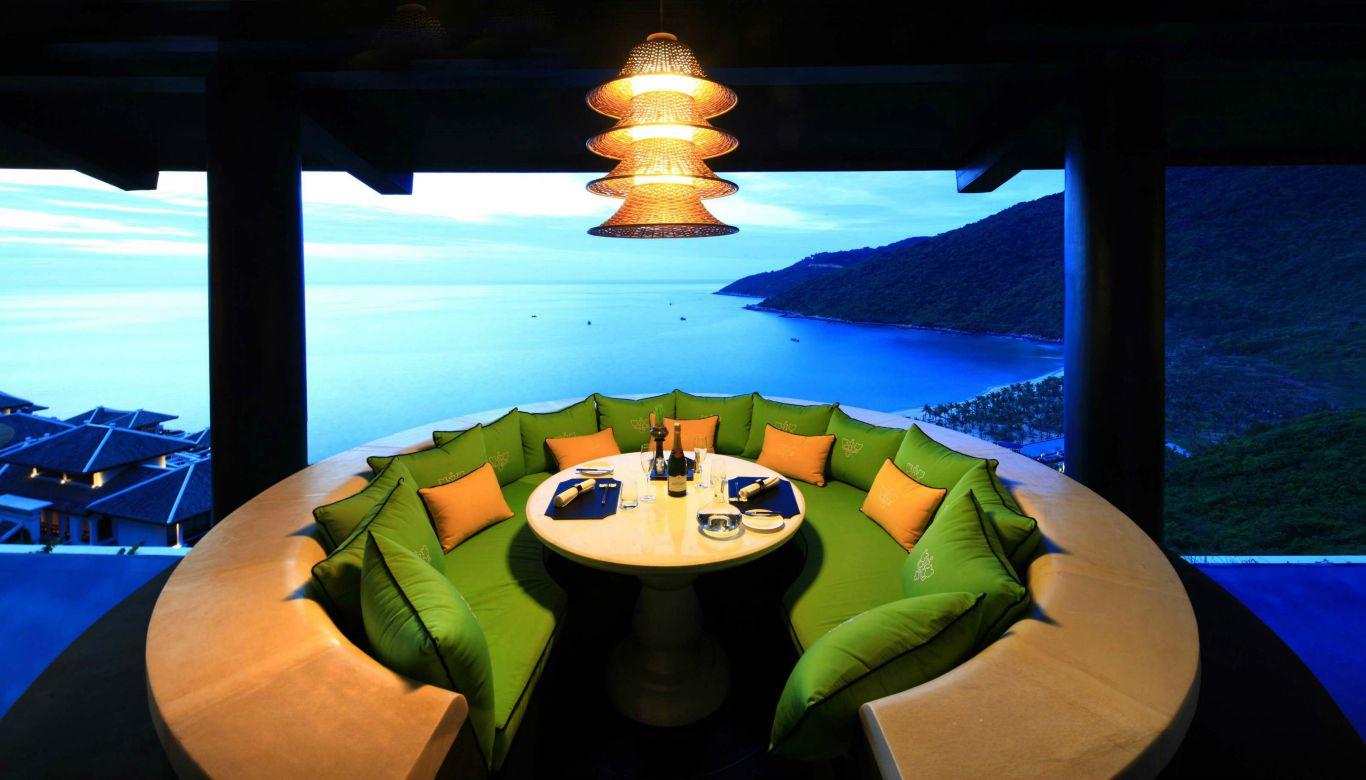 Citron View from Non La table